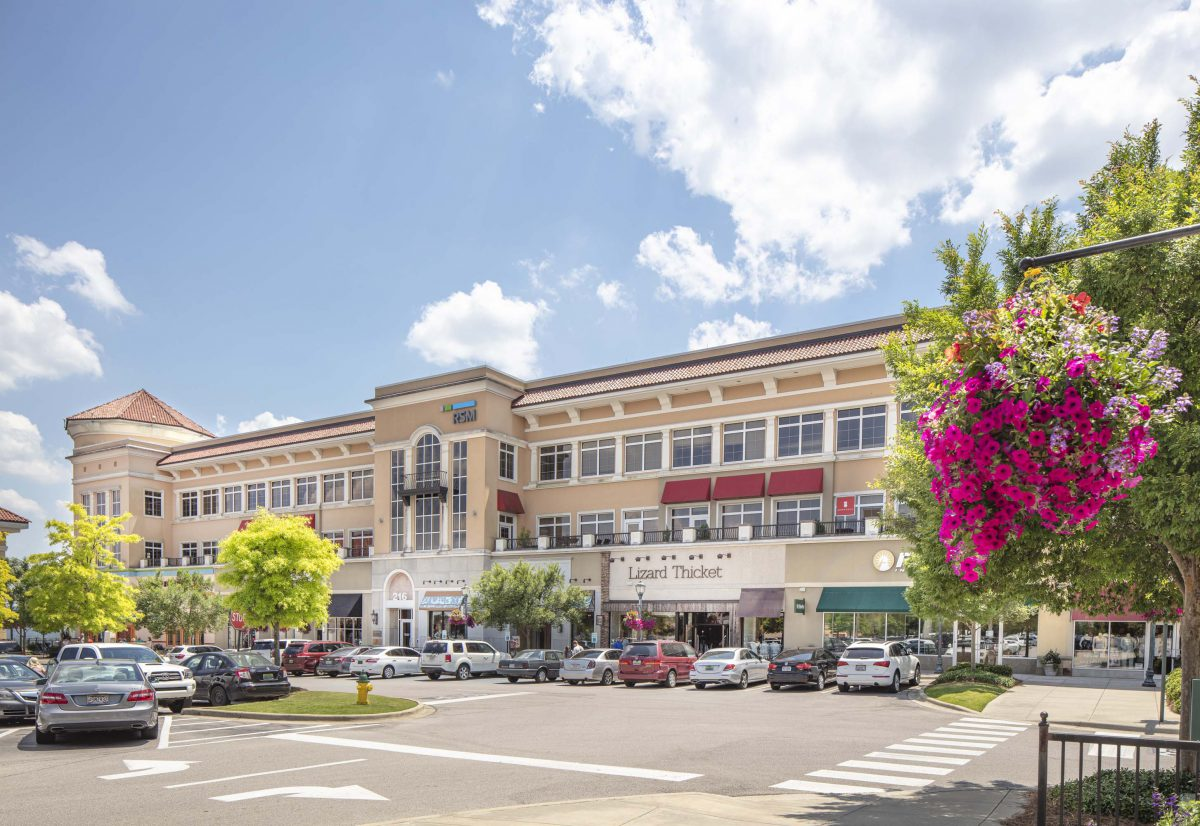 For CMH Architects The Summit Shopping Center