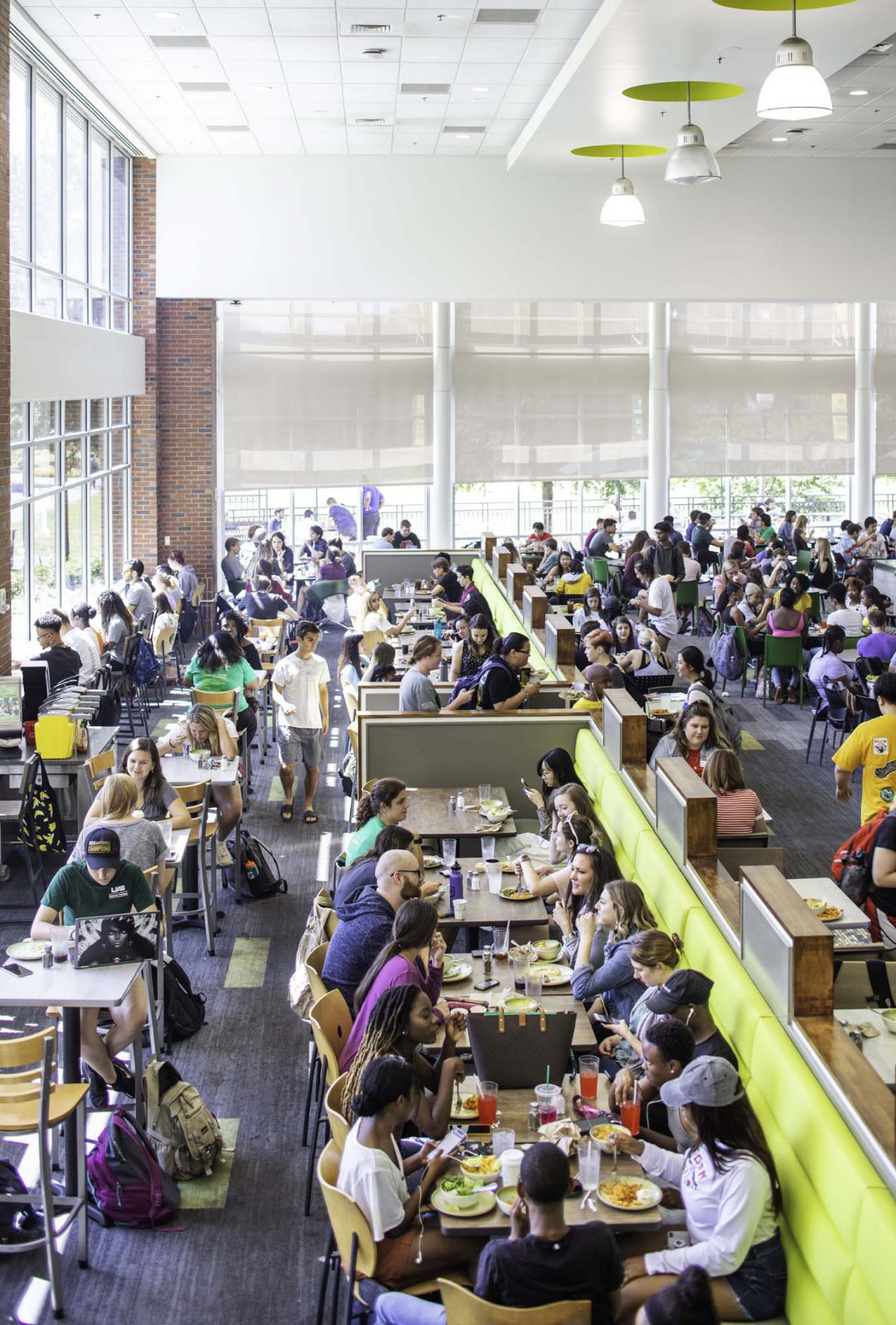 Updated UAB Dining Hall  The Commons on the Green For CMH Architects