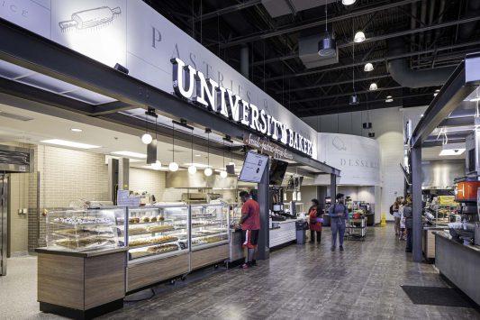 Lakeside Dining Hall at The University of Alabama